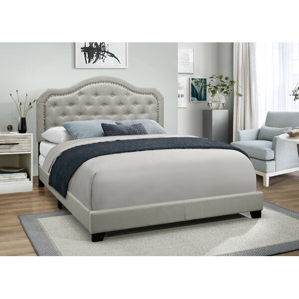Deon Upholstered Standard Bed by Charlton Home