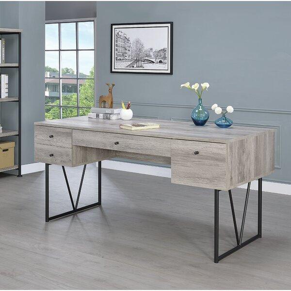 Amber Oak Desk by Foundry Select