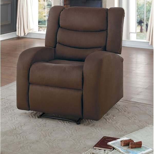 Amara Transitional Manual Glider Recliner by Winston Porter