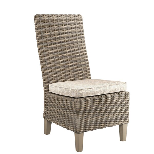 Farmersville Patio Dining Chair with Cushion (Set