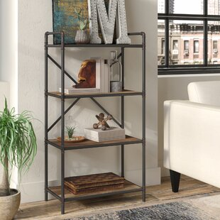 Order 4 Tier Metal Pipe Etagere Bookcase By17 Stories