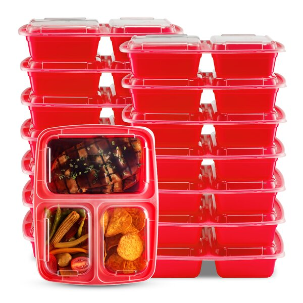 14 Container Food Storage Set (Set of 14) by Rebrilliant