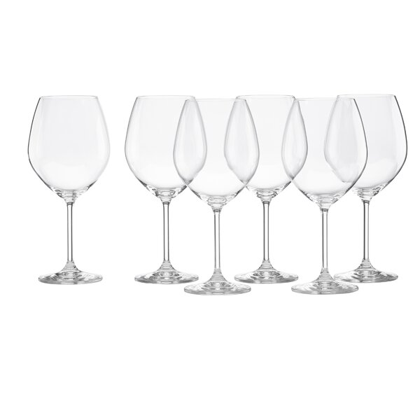 Tuscany Classics Red Wine Glass Set (Set of 6) by Lenox