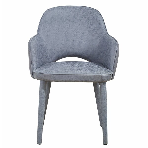 Harty Upholstered Dining Chair by Everly Quinn