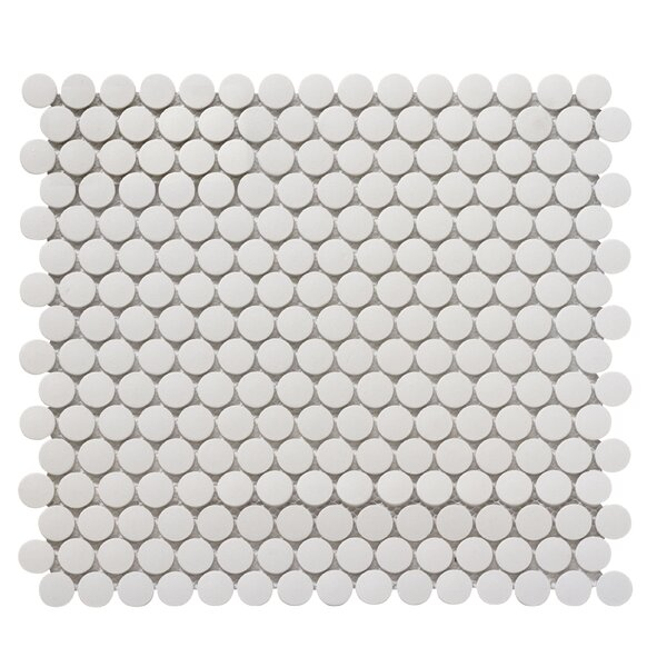 Zone 0.8 x 0.8 Porcelain Mosaic Tile in Gray by Emser Tile