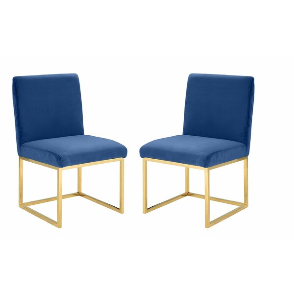 Huerta Upholstered Dining Chair (Set Of 2) By Mercer41 2019 Coupon