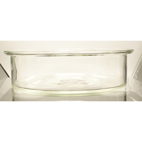 Round Baking Dish by Catamount Glass