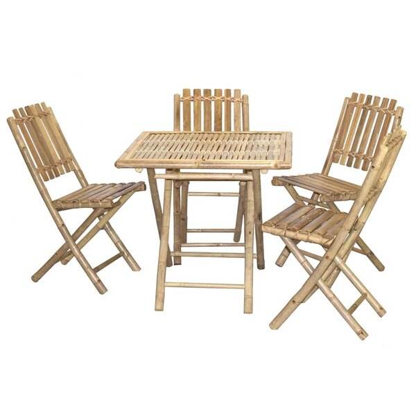 5 Piece Bistro Set by Bamboo54
