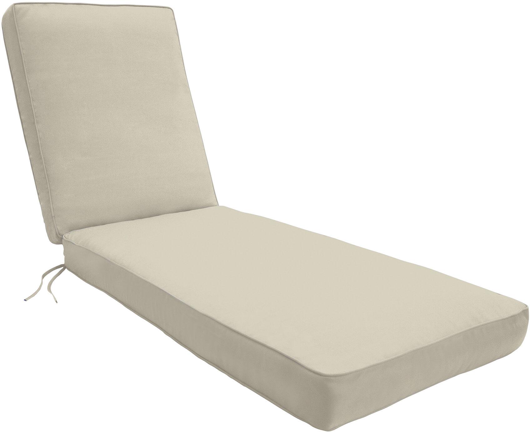 - Wayfair Custom Outdoor Cushions Indoor/Outdoor Chaise Lounge