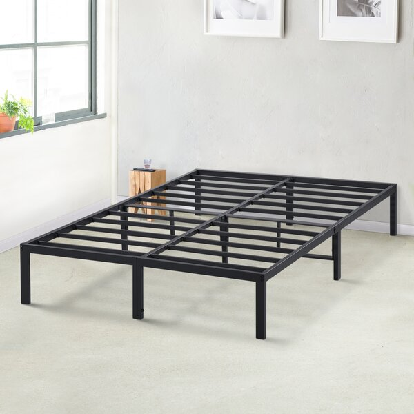 Yetter 14 inch Platform Bed by Latitude Run