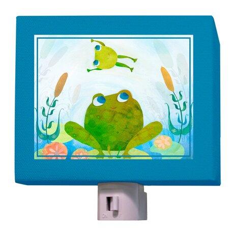 Froggy Leap Night Light by Oopsy Daisy