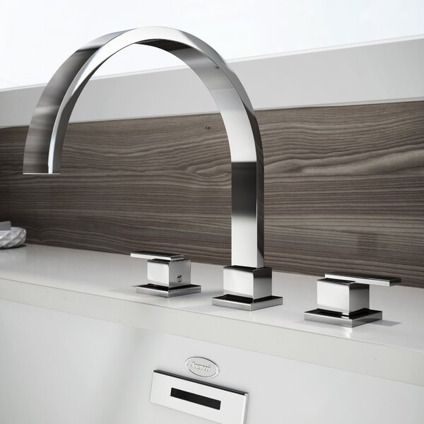 Mincio Double Handle Deck Mount Roman Tub Faucet Trim by Jacuzzi®