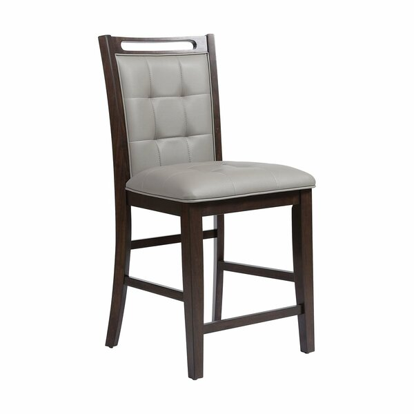 Nazih Faux Leather Bar Stool By Charlton Home