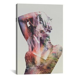 'Wilderness Heart I' by Andreas Lie Graphic Art on Wrapped Canvas by Brayden Studio