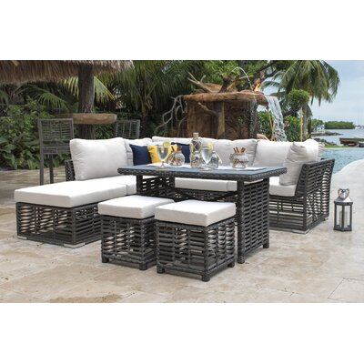 Panama Jack Outdoor Seating Group Cushions Fabric Seating Groups