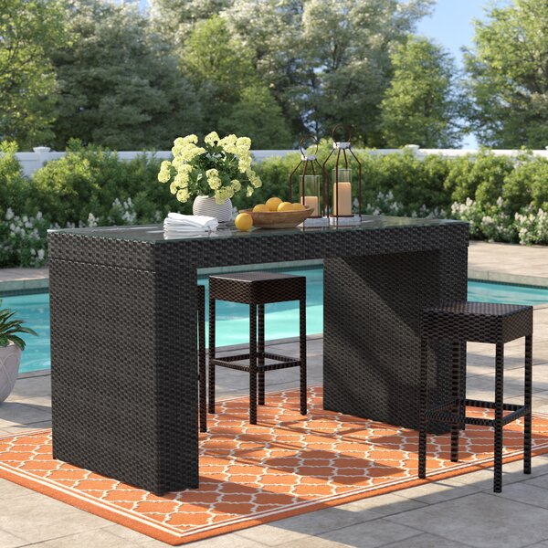 Tegan Bar Table By Sol 72 Outdoor by Sol 72 Outdoor #1