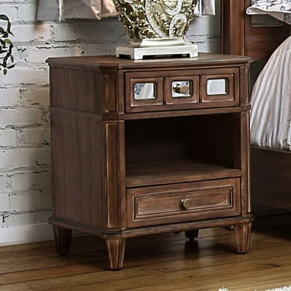 Rettig 2 Drawer Nightstand By Gracie Oaks by Gracie Oaks Coupon