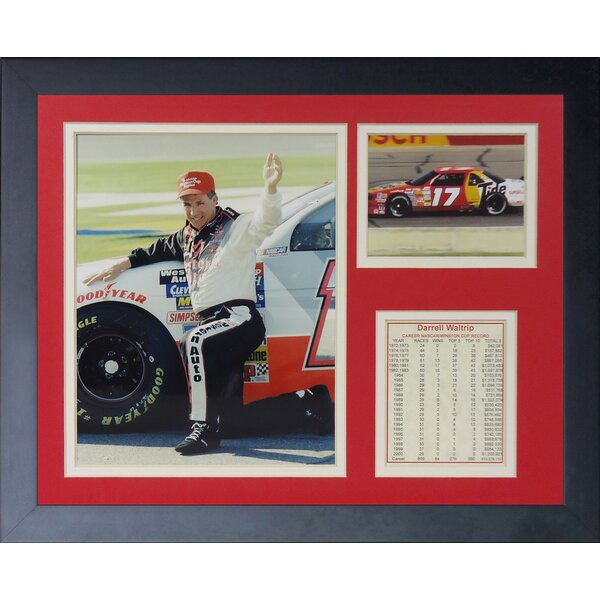 Darrell Waltrip Framed Memorabilia by Legends Never Die