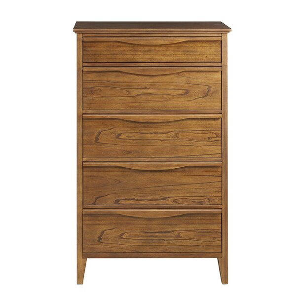 Bishop Tall 5 Drawer Chest by Harbor House