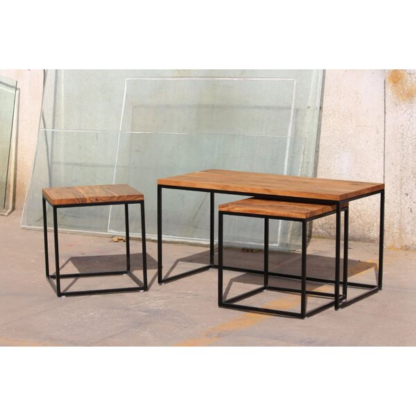 Latham 3 Piece Coffee Table Set with Tray Top by 17 Stories 17 Stories