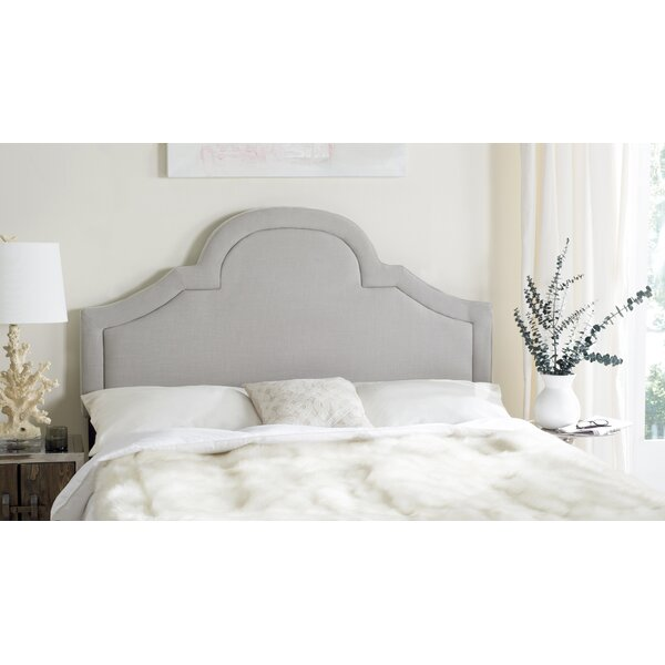 Kerstin Arched Upholstered Panel Headboard by Safavieh