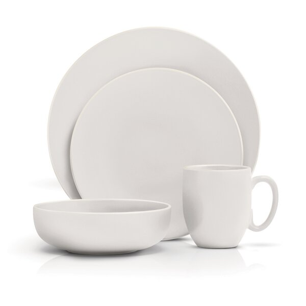 Vera Color 16 Piece Dinnerware Set, Service for 4 by Vera Wang