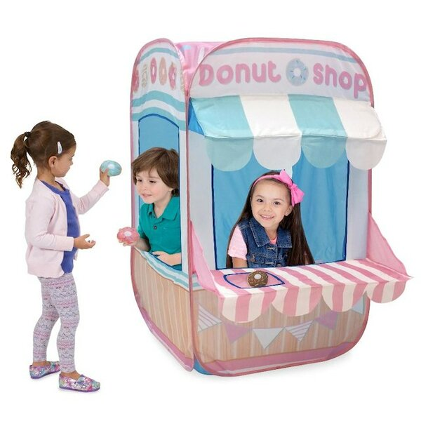 Pretend City Donut Shop Pop-Up Play Tent by Playhu