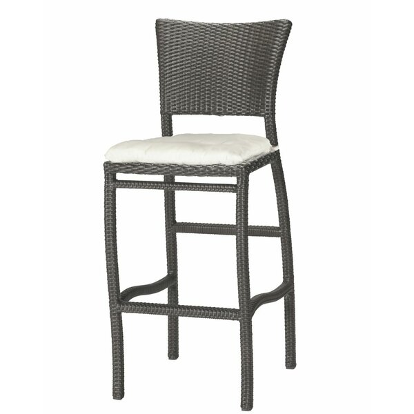Skye 30 Patio Bar Stool with Cushion (Set of 2) by Summer Classics