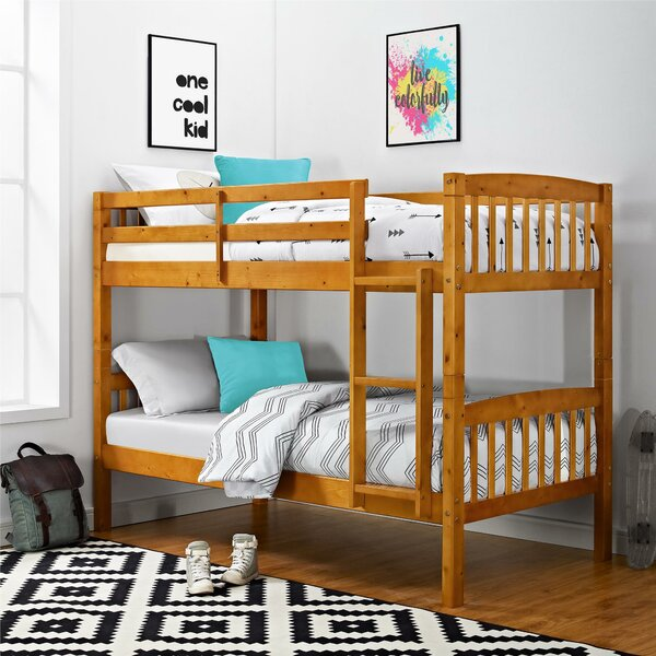 Minehead Twin over Twin Bunk Bed by Harriet Bee