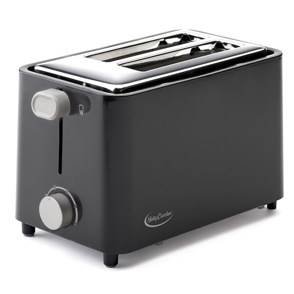 2 Slice Cool Wall Toaster by Betty Crocker
