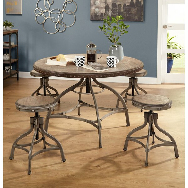 Adalgar 5 Piece Dining Set by 17 Stories