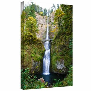 'Multnomah Falls' by Cody York Photographic Print on Wrapped Canvas by ArtWall