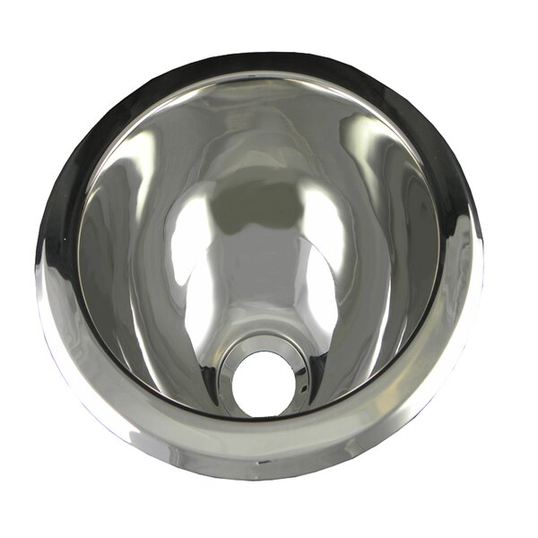 10 L X 10 W Round Bar Sink By Opella.