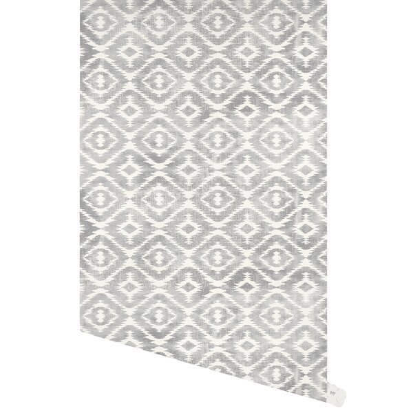 Douglasville 48 L x 24 W Paintable Peel and Stick Wallpaper Panel by Bungalow Rose