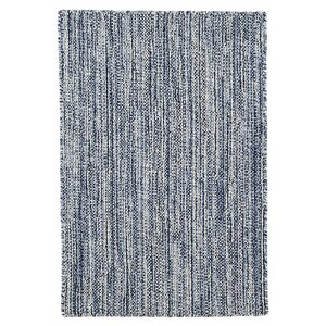 Bella Hand Woven Wool Navy Area Rug