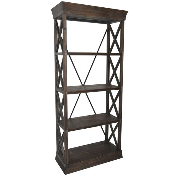 Snider Etagere Bookcase by Gracie Oaks
