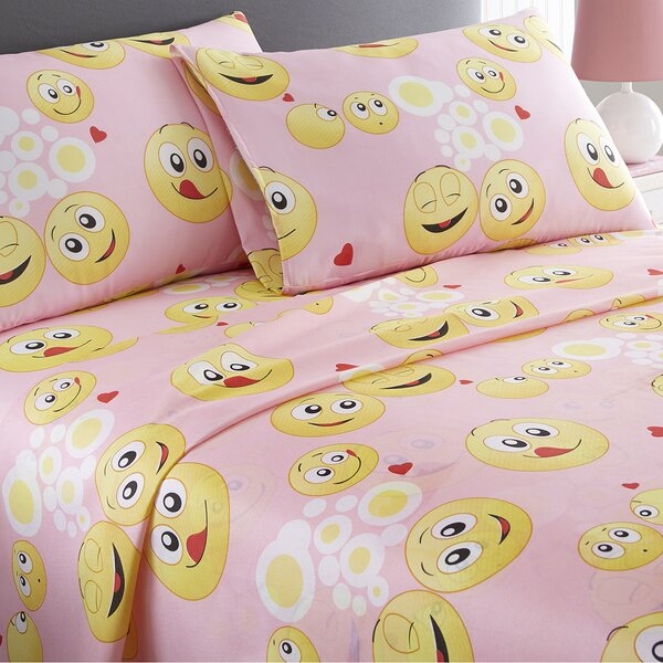 Emoji Sheet Set by Spirit Linen