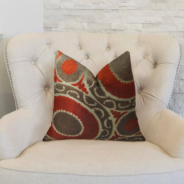 Pomegranate Double Sided Throw Pillow by Plutus Brands