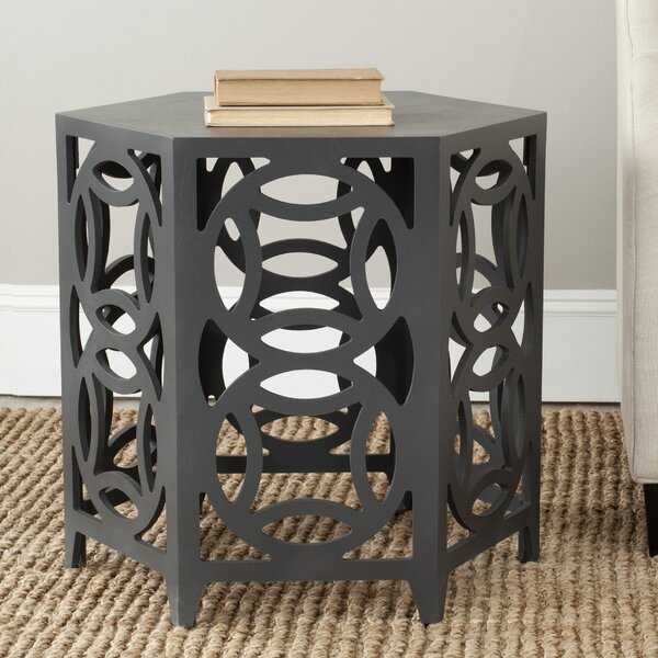 Heidi Block End Table By World Menagerie