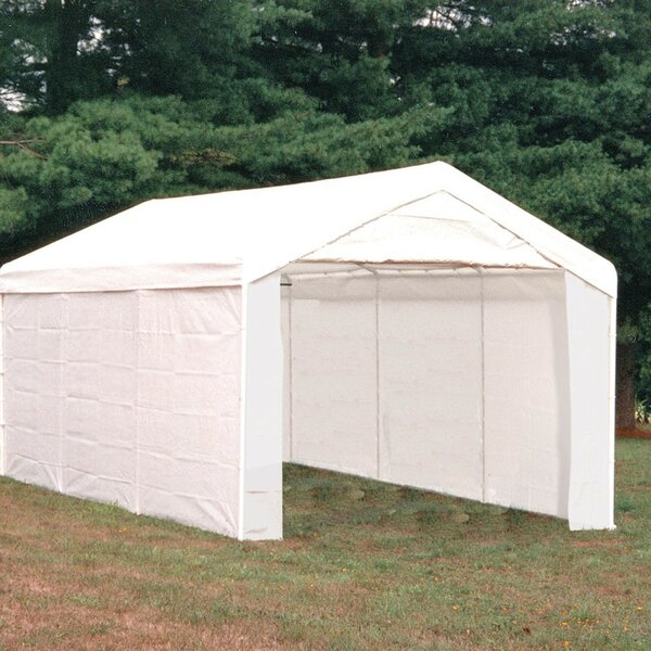 Max Ap 10 Ft. W X 20 Ft. D Steel Party Tent By Shelterlogic.