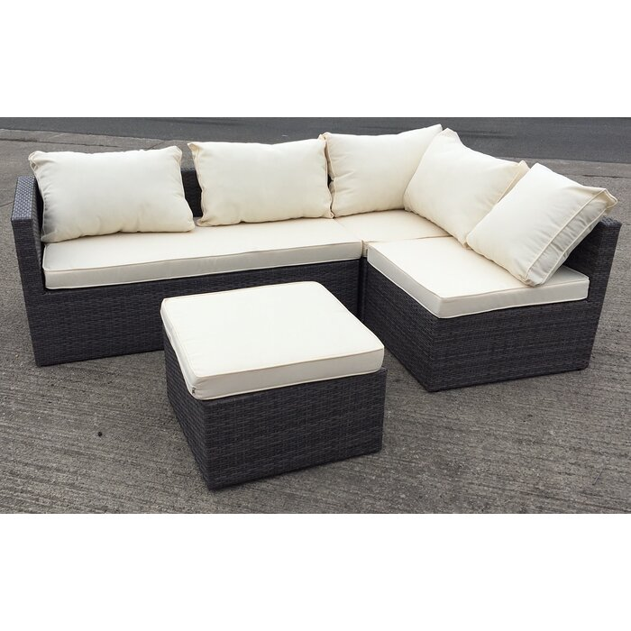 Cool Rattan L Shaped 5 Seater Sectional Sofa Set Cjindustries Chair Design For Home Cjindustriesco