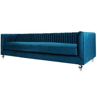 Shela Chesterfield Sofa  by Everly Quinn
