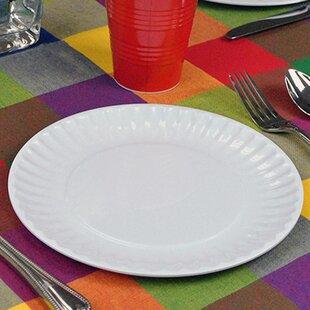 Staley Melamine Picnic 9\  Dinner Plate (Set of 12) & Melamine Picnic Plates | Wayfair