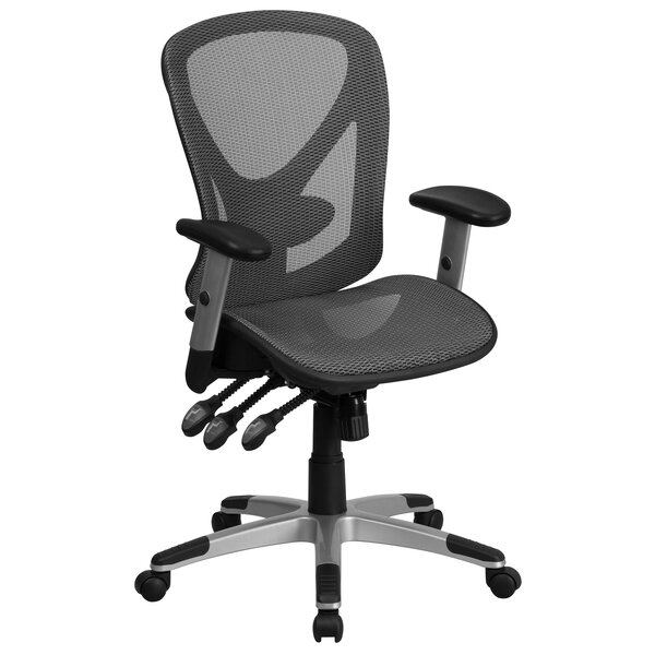 Yahir High-Back Mesh Desk Chair by Symple Stuff