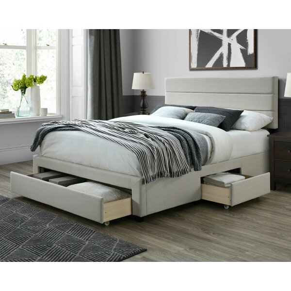 Desoto Upholstered Storage Standard Bed by Ivy Bronx