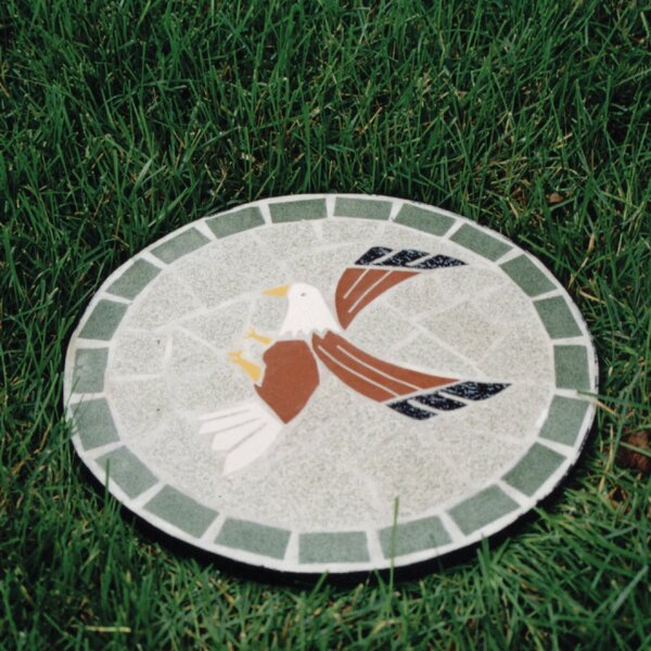 Mosaic Eagle Stepping Stone by Oakland Living