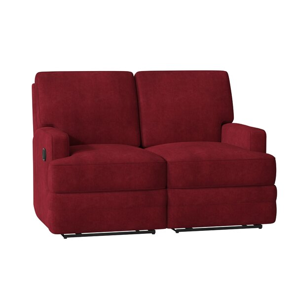 Shop Up And Coming Designers Kaiya Reclining Loveseat by Wayfair Custom Upholstery by Wayfair Custom Upholstery��