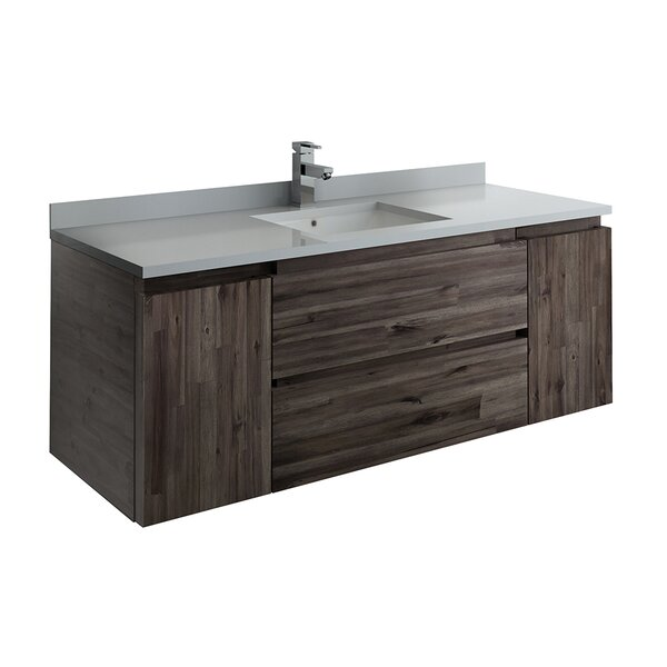 Formosa Wall Hung 53 Single Bathroom Vanity Base Only