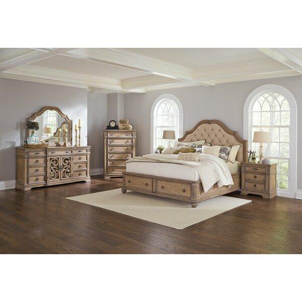 George Upholstered Storage Platform Bed by One Allium Way