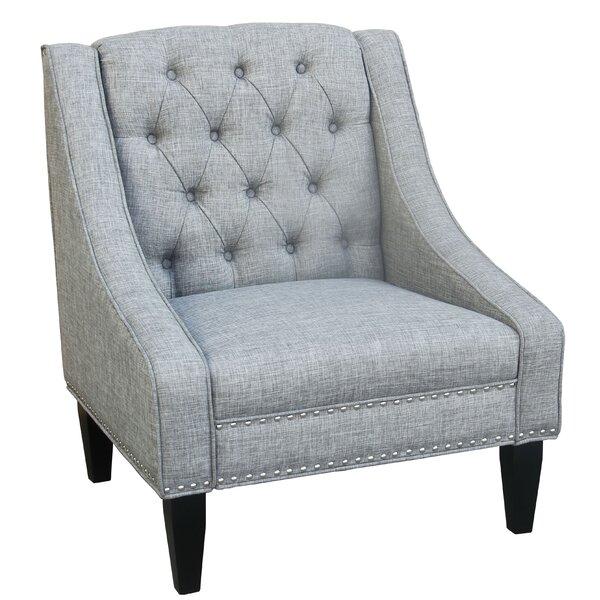 Padang Tufted Armchair by Charlton Home
